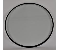 Iso. glas 1000T geplaatst